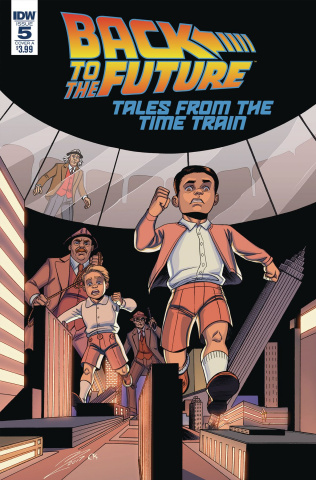Back to the Future: Tales from the Time Train #5 (Levens Cover)