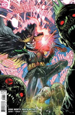 Dark Nights: Death Metal #6 (1:25 Doug Mahnke Cover)
