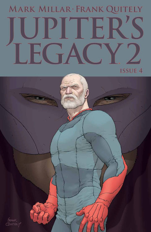 Jupiter's Legacy 2 #4 (Quitely Cover)