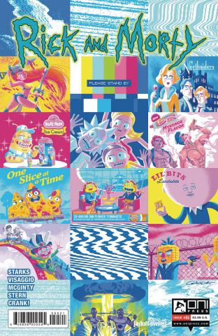 Rick and Morty #55 (Caltsoudas Cover)
