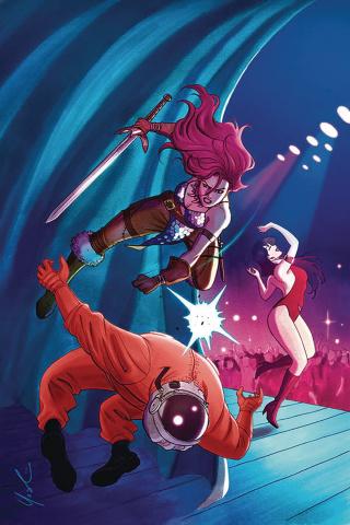 Vampirella / Red Sonja #6 (Lynne Yoshii Virgin Cover)
