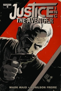 Justice Inc.: The Avenger #2 (Francavilla Cover)