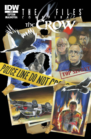 The X-Files: Conspiracy / The Crow #1