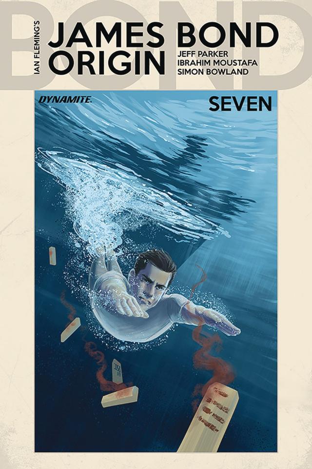 James Bond: Origin #7 (Moustafa Cover)