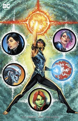 Titans #28 (Variant Cover)