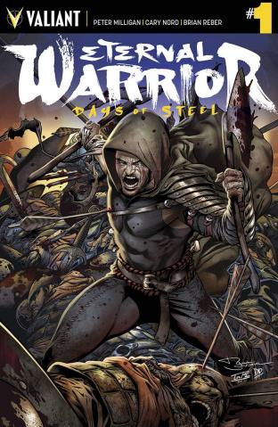 Eternal Warrior: Days of Steel #1 (Sandoval Cover)
