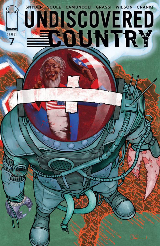 Undiscovered Country #7 (Adlard Cover)