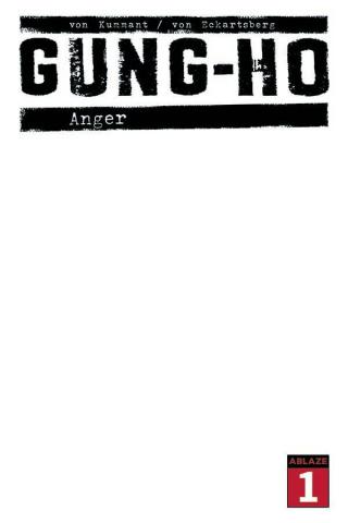Gung-Ho: Anger #1 (Blank Sketch Cover)