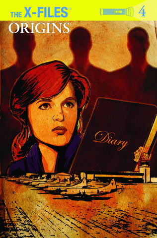 The X-Files: Origins #4 (Subscription Cover)