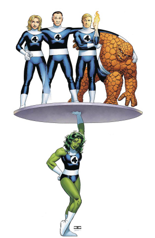 Avengers #6 (Cassaday Return of Fantastic Four Cover)