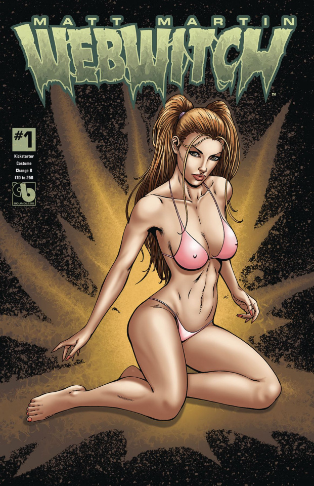 Webwitch #1 (Costume Change Cover)