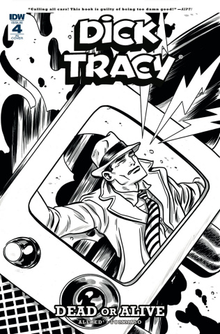 Dick Tracy: Dead or Alive #4 (10 Copy Allred Cover)