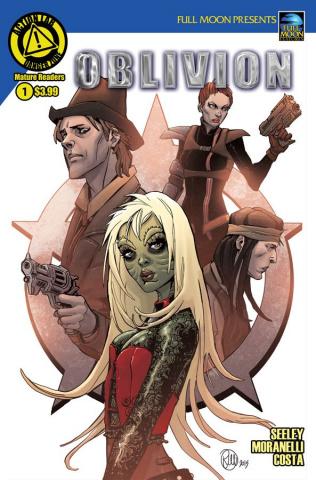 Oblivion #1 (Moranelli Cover)