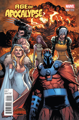 Age of Apocalypse #2 (Ramos Cover)