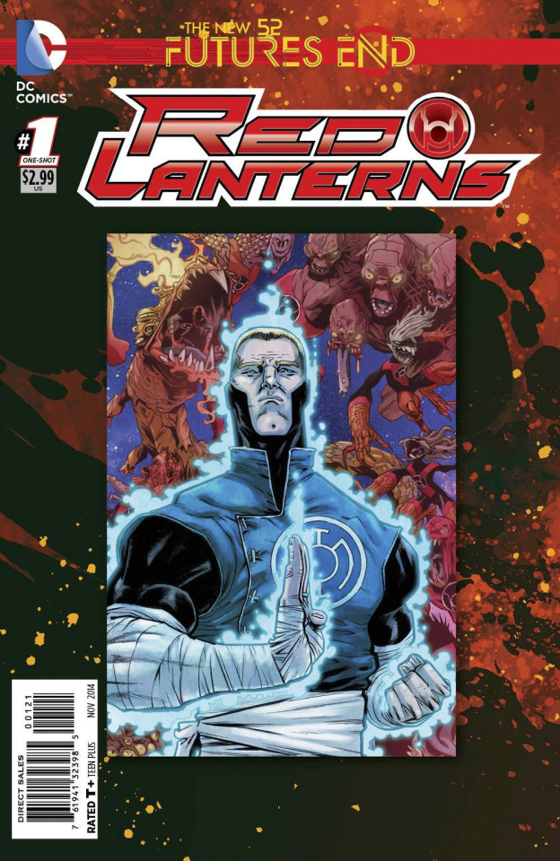 Red Lanterns: Future's End #1 (Standard Cover)