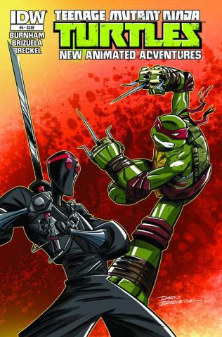 Teenage Mutant Ninja Turtles: New Animated Adventures #4