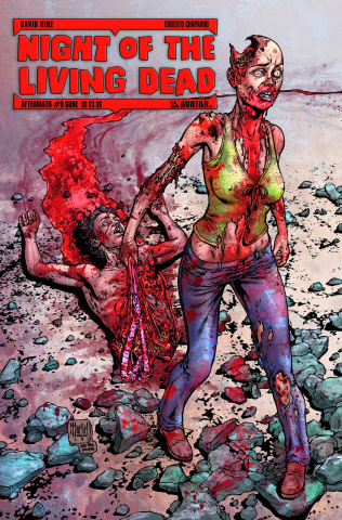 Night of the Living Dead: Aftermath #9 (Gore Cover)