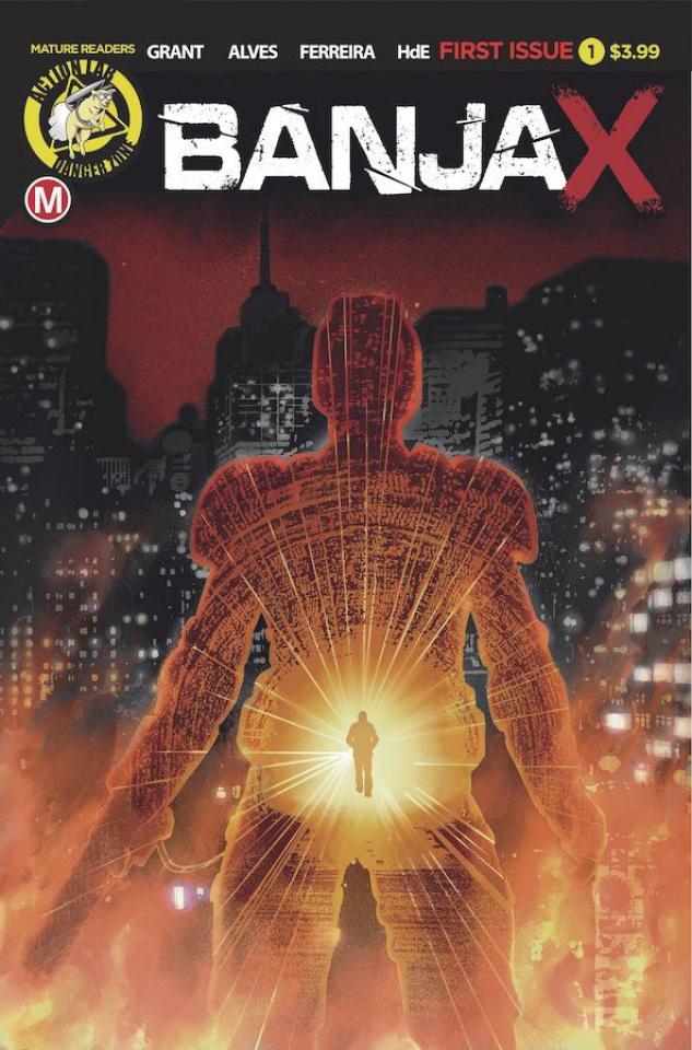 BanjaX #1 (Alves Cover)