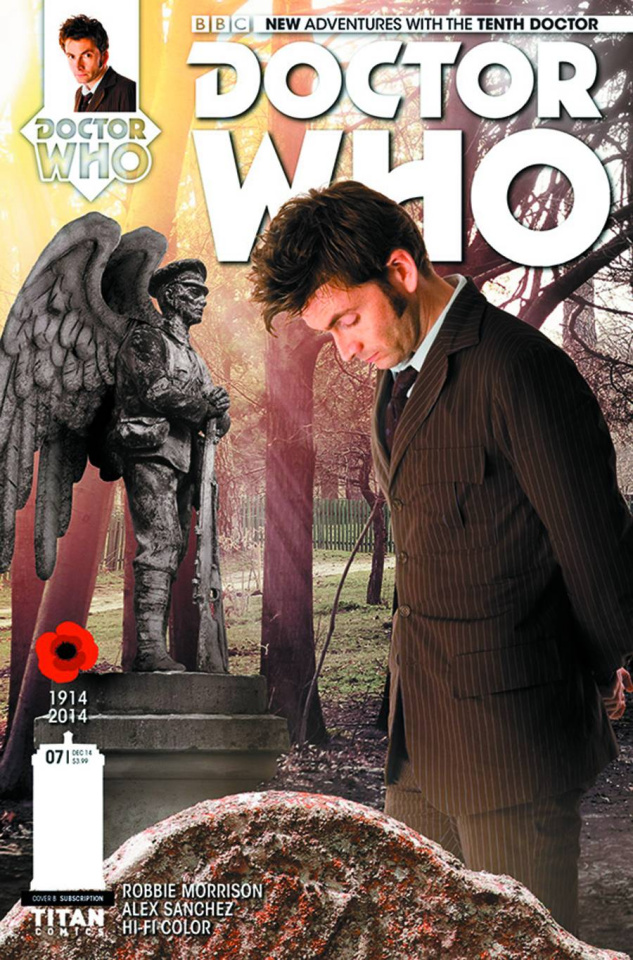 Doctor Who: New Adventures with the Tenth Doctor #7 (Subscription Cover)