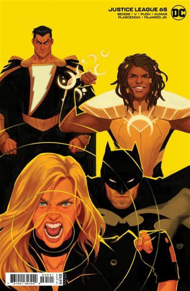 Justice League #65 (David Talaski Card Stock Cover)