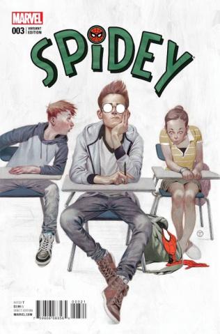 Spidey #3 (Tedesco Cover)
