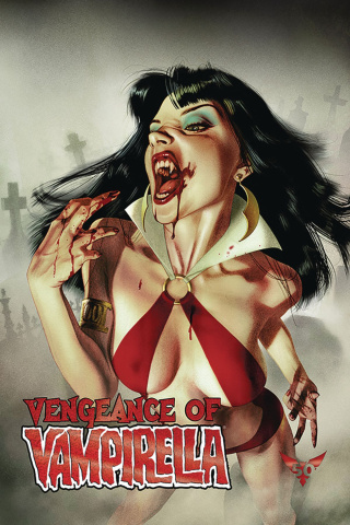 Vengeance of Vampirella #1 (Middleton Red Foil Cover)