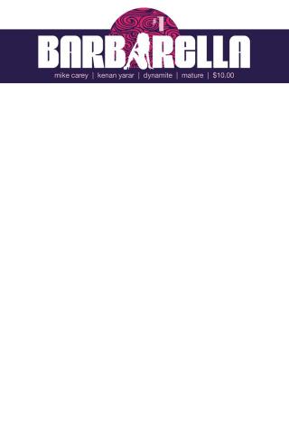 Barbarella #1 (Blank Authentix Cover)