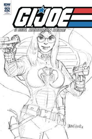 G.I. Joe: A Real American Hero #252 (10 Copy Cover)
