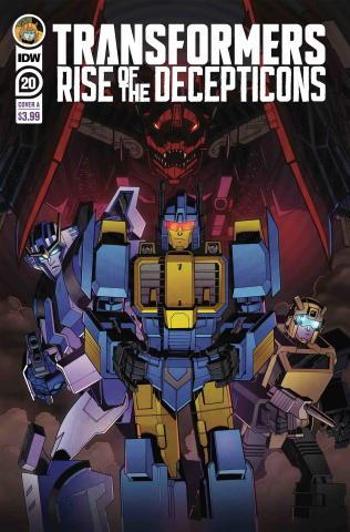 The Transformers #20 (Pirrie Cover)