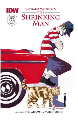 The Shrinking Man #2 (Subscription Cover)
