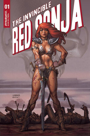 The Invincible Red Sonja #1 (Linsner Cover)