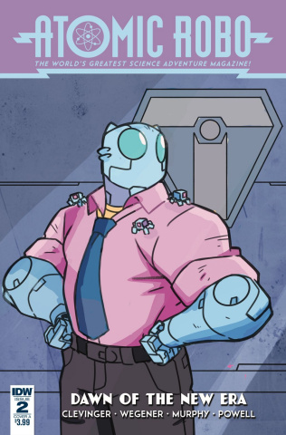 Atomic Robo: Dawn of the New Era #2 (Wegener Cover)