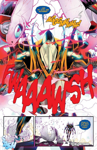 Mighty Morphin' Power Rangers #50 (50 Copy Lee Cover)