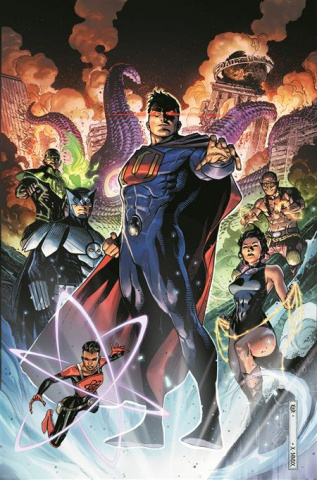 Crime Syndicate #1 (Jim Cheung Cover)
