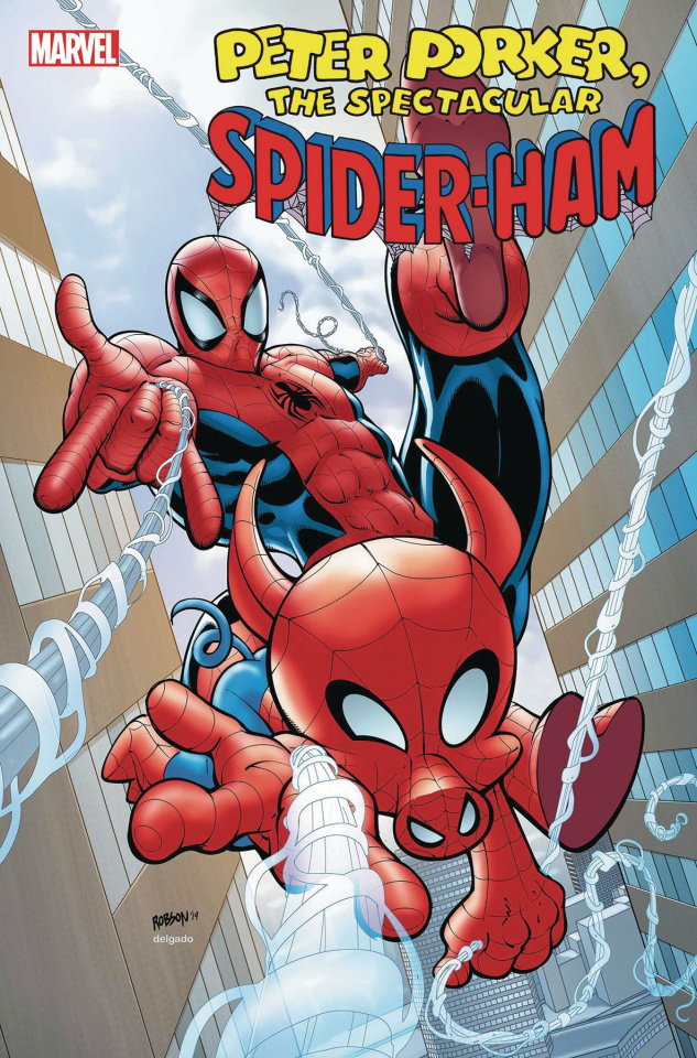 Spider-Ham #1 (Robson Cover)