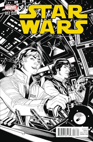 Star Wars #17 (Dodson Sketch Cover)