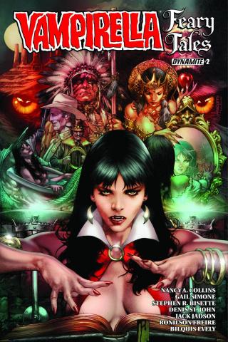 Vampirella: Feary Tales #2 (Anacleto Cover)