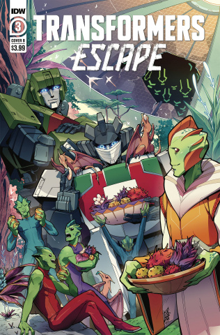 Transformers: Escape #3 (Umi Miyan Cover)