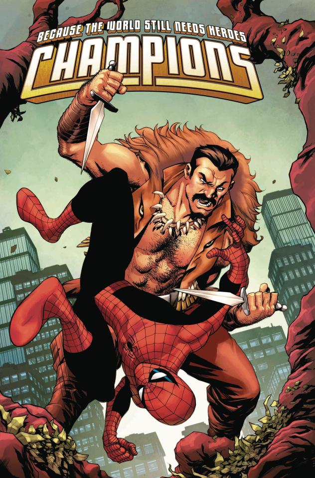 Champions #3 (McKone Spider-Man Villains Cover)