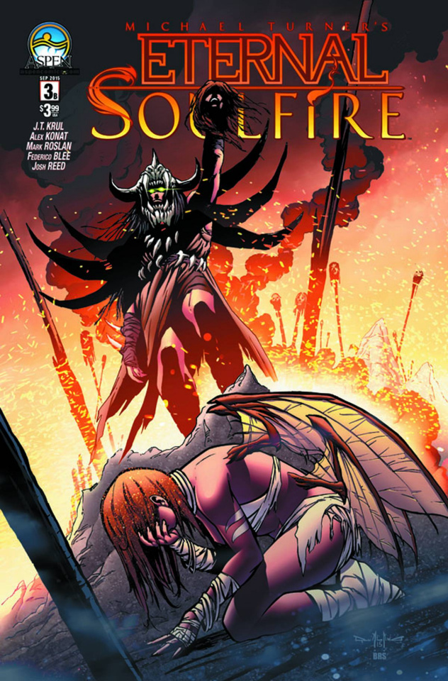 Eternal: Soulfire #3 (Direct Market Cover B)