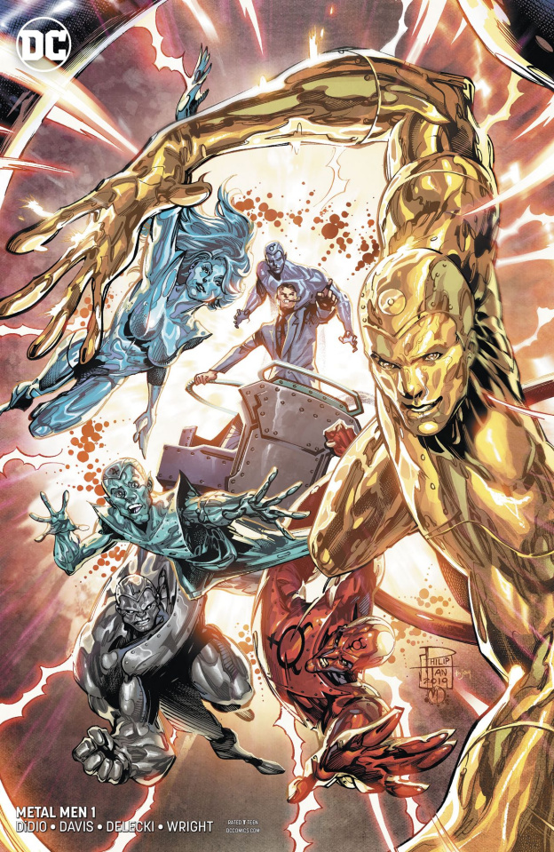 Metal Men #1 (Variant Cover)