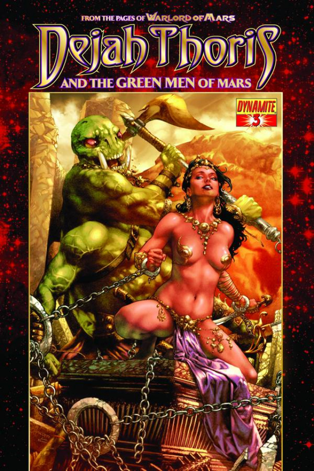 Dejah Thoris & The Green Men of Mars #3