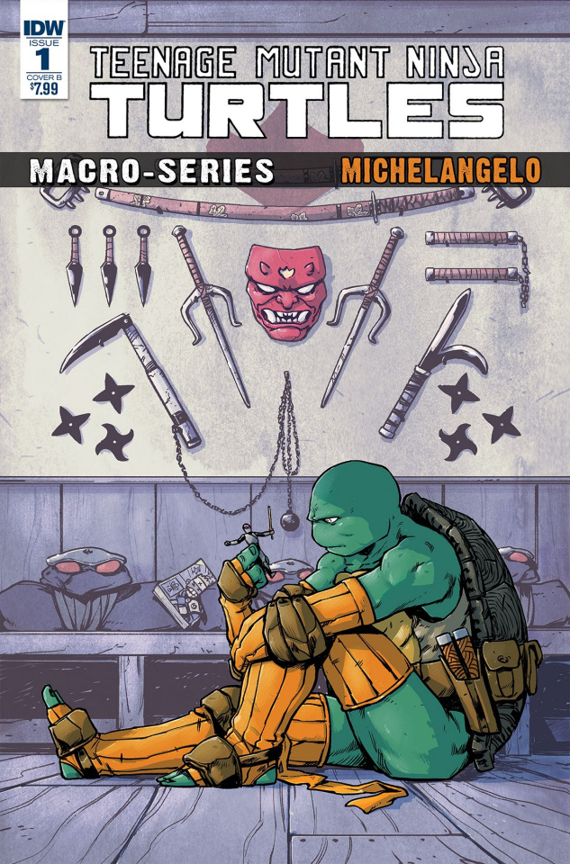 Teenage Mutant Ninja Turtles Macro-Series #2: Michelangelo (Dialynas Cover)