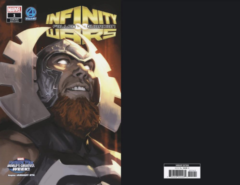 Infinity Wars: Fallen Guardian #1 (Djurdjevic Fantastic Four Villains Cover)