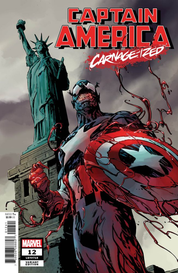 Captain America #12 (Guice Carnage-ized Cover)