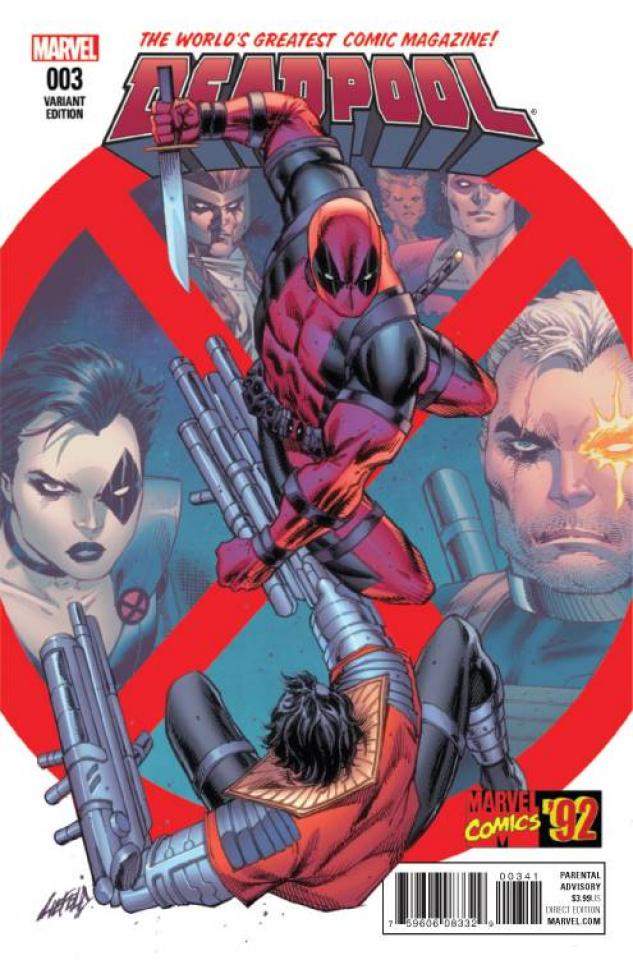 Deadpool #3 (Liefeld Marvel '92 Cover)