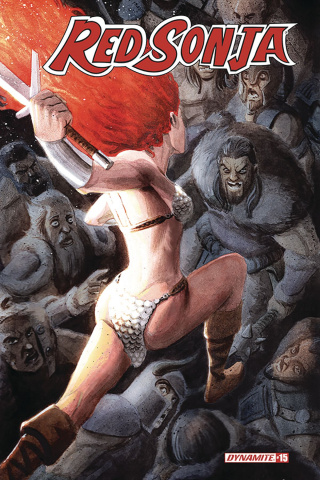 Red Sonja #15 (Bob Q Cover)