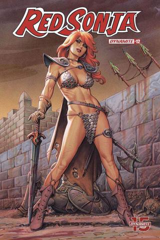 Red Sonja #12 (Linsner Cover)
