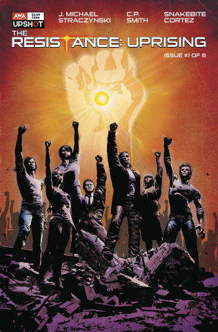 The Resistance: Uprising #1 (Deodato Jr. Cover)