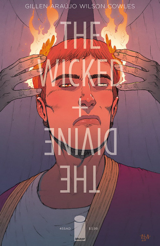 The Wicked + The Divine: 455 AD #1 (Araujo Cover)